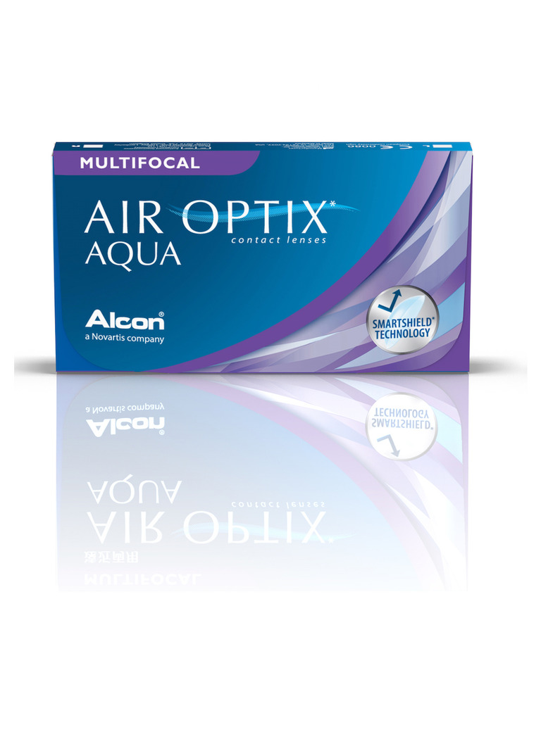 Air Optix Aqua Multifocal (6 šošoviek)