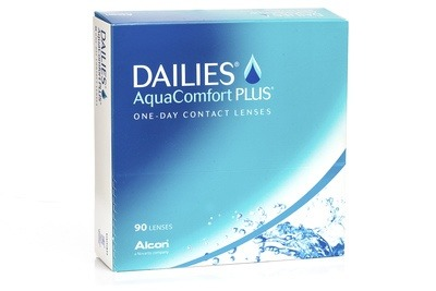 DAILIES AquaComfort Plus (90 šošoviek)