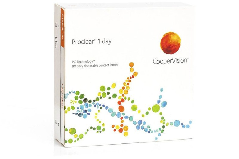 Proclear 1 day CooperVision (90 šošoviek)